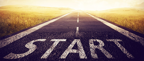frases curtas de motivação start estrada